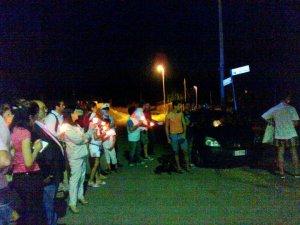 Manifestazione a Margherita (Crotone)