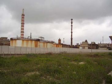 Lo stabilimento della Pertusola di Crotone