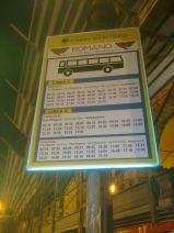 Gli orari dei bus in Piazza Pitagora (Crotone)