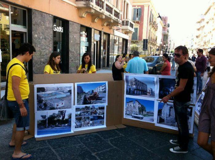 Iniziativa di Stanchi dei Soliti sul degrado urbano nel 2011