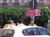 Segnali stradali nelle vari zone della città di Crotone