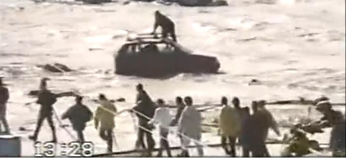 Foto alluvione Crotone 1996