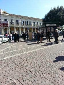 Piazza e strade Crotone