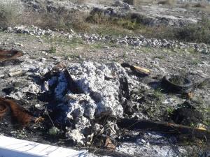 materiale inquinante crotone
