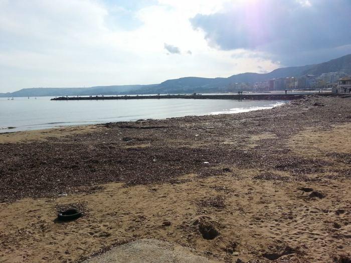 Condizione attuale spiaggia Crotone