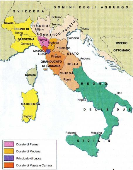 regno delle due sicilie 1815