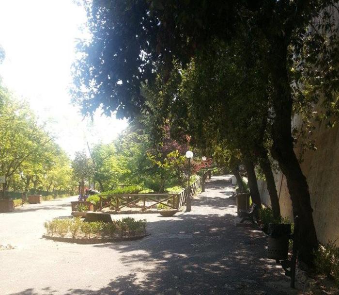 Ingresso villa comunale Crotone