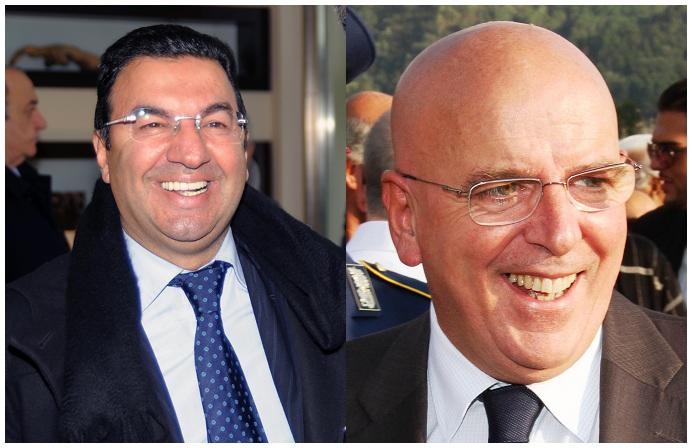 Tonino Gentile e Mario Oliverio